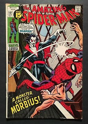 Amazing Spiderman 101 First Appearance Morbius Key GD+ bronze Age
