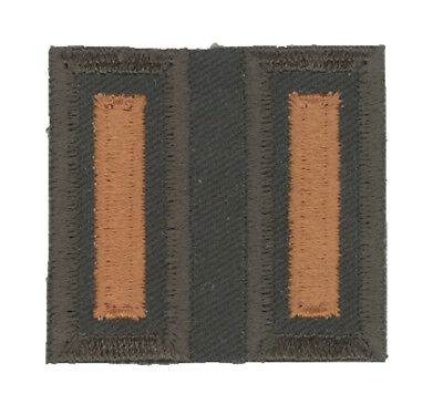 DOUBLE WOUND STRIPES FOR CANADIAN GARRISON DRESS UNIFORM - one unlucky guy -