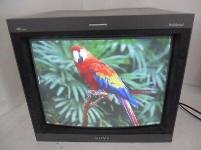 Sony Trinitron Pvm-20L5 Production Video Monitor 2104131 T4-B18