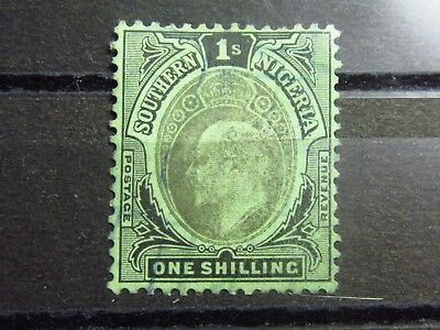 SOUTHERN NIGERIA British Colonies Old Stamp - Mint NG - VF - r47e5403
