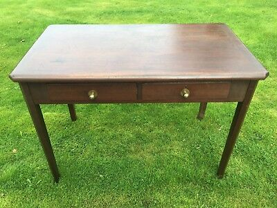 Antique Console Table Desk Hall Table Small Drawer Table