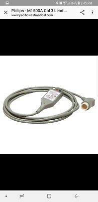 Cable ECG 3-Lead Trunk for Philips HeartStart MRx