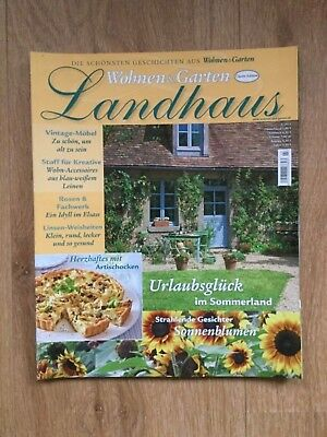 Wohnen Garten Landhaus Zeitschrift wohnen garten landhaus zeitschrift ausgabe 3 2012 sonnenblumen