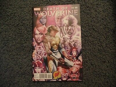 Death of Wolverine #1 Variant Cover Autographed by Charles Soule - 372/520