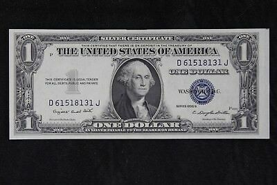$1 1935G UNC with Motto silver certificate D61518131J, series G, FREE SHIPPING