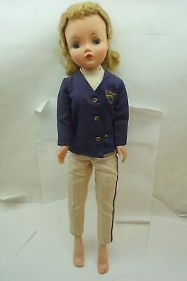 VINTAGE MADAME ALEXANDER DOLL CISSY HARD PLASTIC 20in BLONDE TAGGED OUTFIT