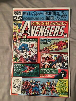 Avengers Annual #10 High Grade 1st Appearance of Rogue!