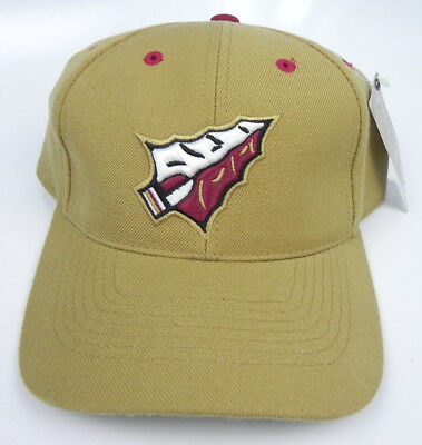 b7d476658cc99e Florida State St. Seminoles Gold Ncaa Vintage Fitted Tow 100% Wool Cap Hat  Nwt