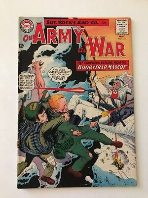 Our Army at War #154 Sgt Rock (DC Comics; May, 1965) - Vg+