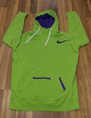 (A) Nike Youth Large Hoodie Stretch Athletic Jacket  Full Zip