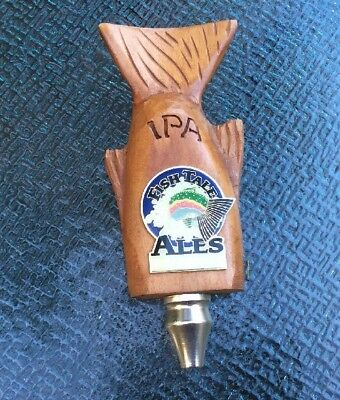Fish Brewing Co. Fish Tales Ales Tap Handle, Excellent