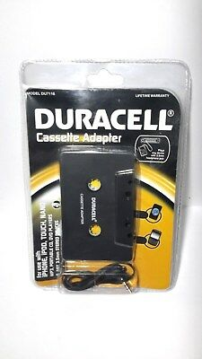 Duracell DU7116 Cassette Adapter with 3.5mm Connection