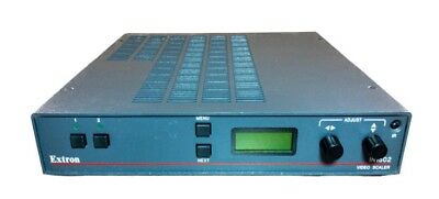 Extron IN1502 Two Input Digital Video Scaler RGB Composite S-Video FULLY TESTED