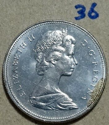 1968 Fifty cents coin almost  UNC # 36