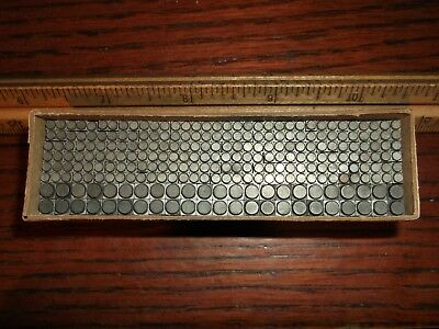 250 PIECE NEW & USED LOT 8pt. & 12pt. BULLETS LETTERPRESS DINGBATS DINGBAT