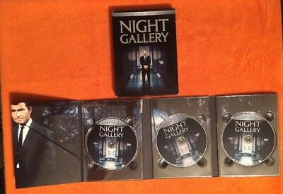 Night Gallery - The Complete First Season (DVD, 2004, 3-Disc Set) Classic Terror