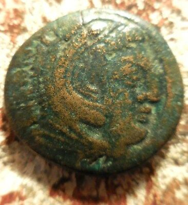 Macedonian Kassander 316-297 BC, Head of young Hercules / Rider with hand raised