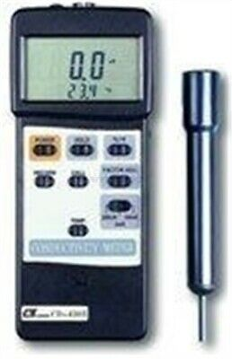 New LUTRON CD-4303 Conductivity Meter -P Circuit 200 US/2 MS/20 Ms, RS-232 xf