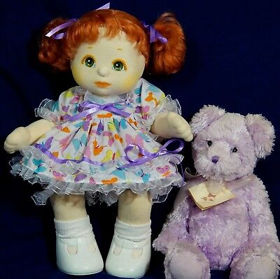 Mattel My Child Doll Aussie Flare Style Dress Panties Ribbons (No Doll)