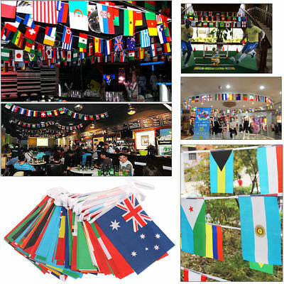 32 Teams Flags/ String Russia World Cup 2018 Bunting Of Flags Party Home Decor