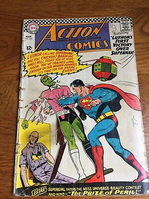 Action Comics (DC) #335 1966 VG+ 4.5