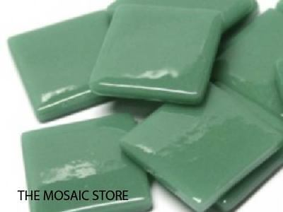 Teal Gloss Glass Tiles 2.5cm - Mosaic Tiles Supplies Art Craft