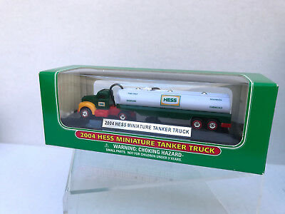 2004 Hess Miniature Tanker Truck NEW IN BOX