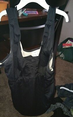 preowned womens motherhood maternity bathing suit size XL in black