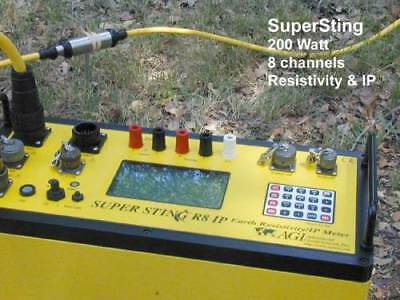 Earth Resistivity Meter Surveying Geophysical  Agi Supersting R8/ip Gssi