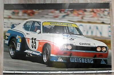 Ford Capri RS - Weisberg Racing Werner Schommers, 1975 3400cc Cosworth....Poster