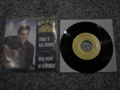 Elvis Presley That's All Right - Blue Moon Of Kentucky Chicken 101