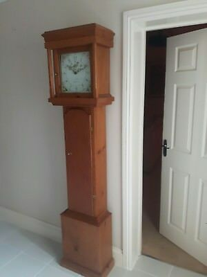 Long Case Pine Clock