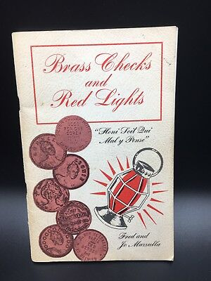 Brass Checks And Red Lights Coin And Token Book