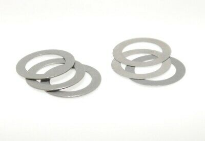 10 x Shim Washer 10 x 16mm - Thickness 0,1 Bis 0,5 mm