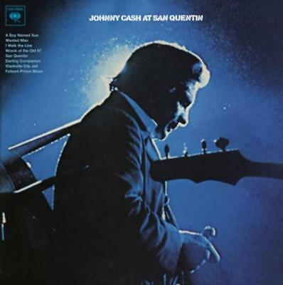 LP Johnny Cash Live at St. Quentin