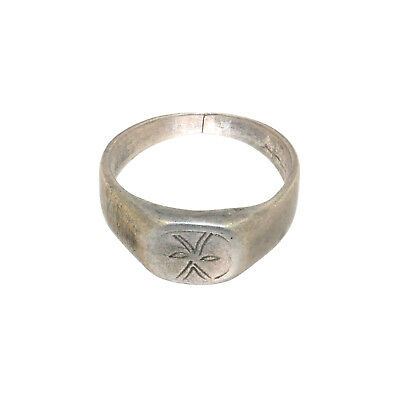 (2049)Antique Berber silver ring