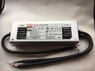 Mean Well ELG-100-24DA Constant Current/Voltage DALI LED Driver 100W 24V 4A