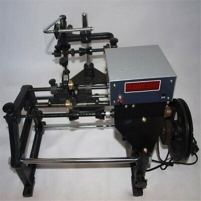 220V Automatic Coil Winding Machine Hand Coil Winder W/ Electronic Counting