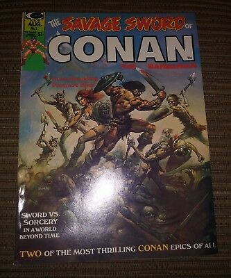 Savage Sword of Conan # 1 FIRST ISSUE Marvel Comics 1974 The Barbarian