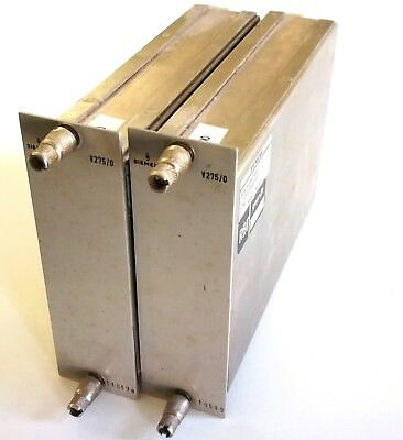 Tested & working pair 1970s Siemens V275/0 high end summing amps