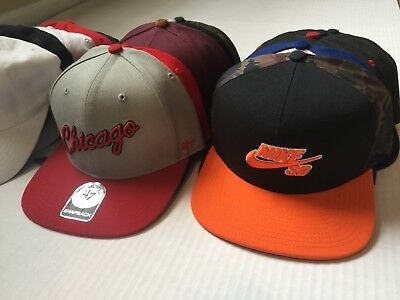 New Era,Mitchell & Ness Starter Fitted, SnapBack & Dad Hat Lot Of 15. New & Used