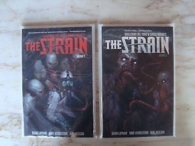 The Strain 1 & 2 TPB 1st Prints First Edition NM- Walking Dead Vampires