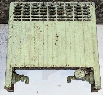 "Vintage Cast Iron Hot Water Radiator 20"" x 20"" x 5"""