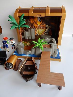 Playmobil 4432 Piraten Schatztruhe Seeräuber Piraten Koffer Truhe