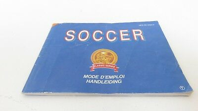 Soccer - NES manual only