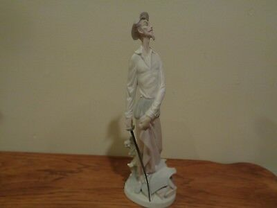 "Vintage Lladro Don Quixote with Sword 12"" Figurine"