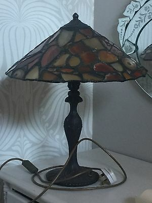 Very rare and unusual agate Tiffany Lamp