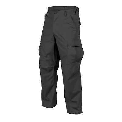 Helikon Tex US BDU Cargo Army Outdoor Freizeit Bushcraft Hose Trousers schwarz