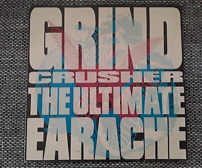 Grind Crusher - The Ultimate Earache , 2 LP Set