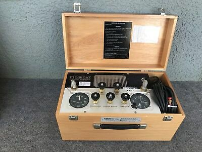 Qed Inc. Pitostat 5000-1 Pitot Static System Test Set With 12/12/17 Calibration